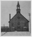 L'Église et la sacristie
